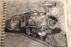 A much better steam train.