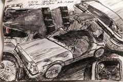 Delorean at Peterson Auto Museum