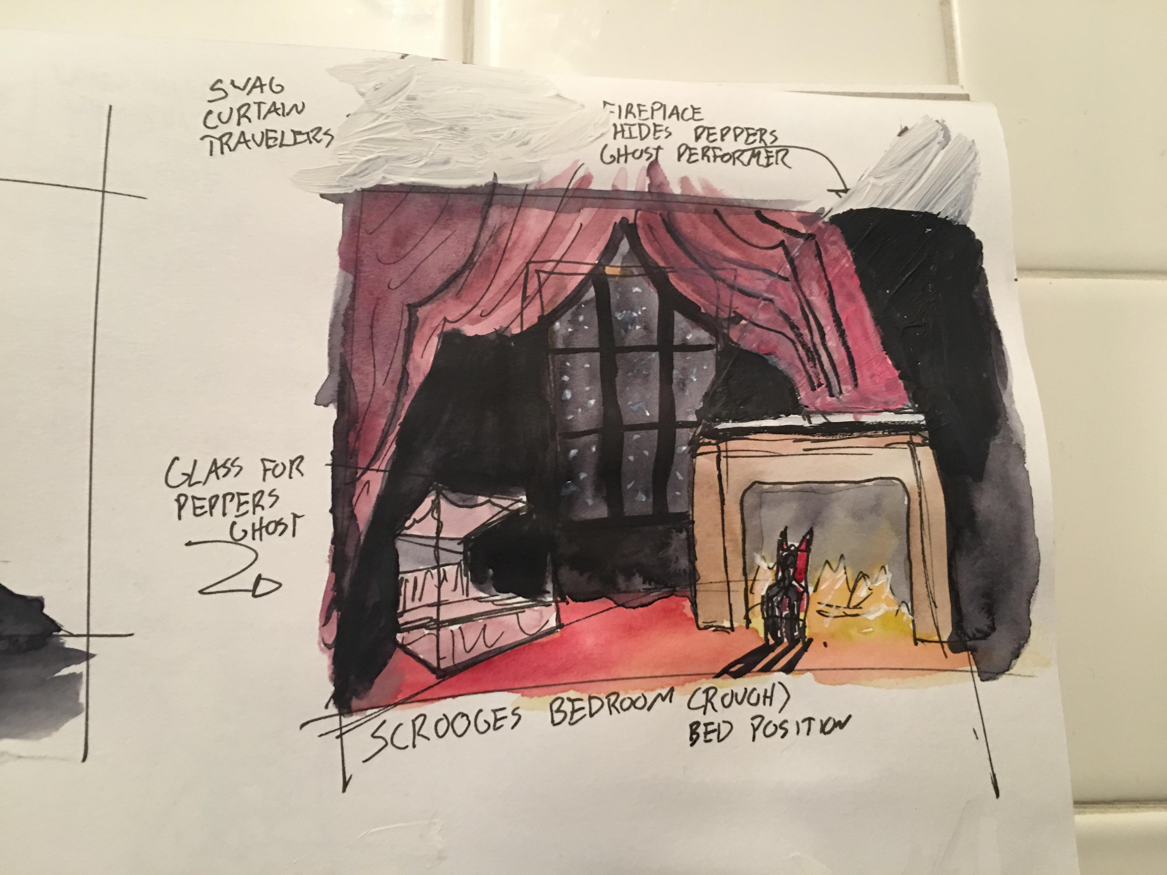 Scrooge's Bedroom