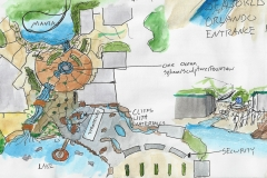 Seaworld Entrance plan
